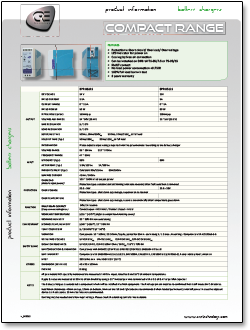cre battery charger product specifications