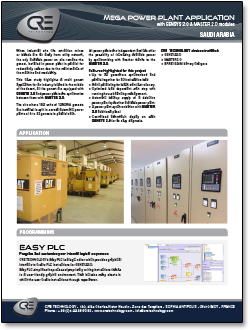 cre mega power plant application case study