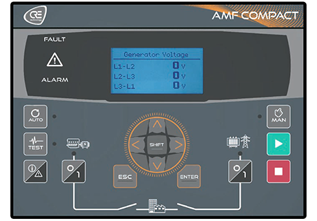 amf compact generator controller