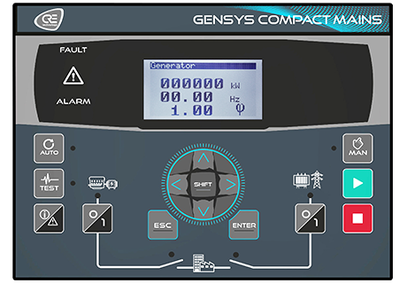 gensys compact mains generator controller
