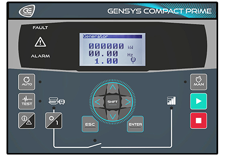 gensys compact prime generator controller