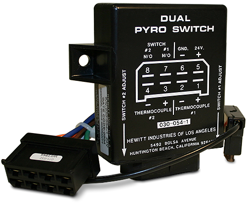 hewitt industries dual pyro switch module