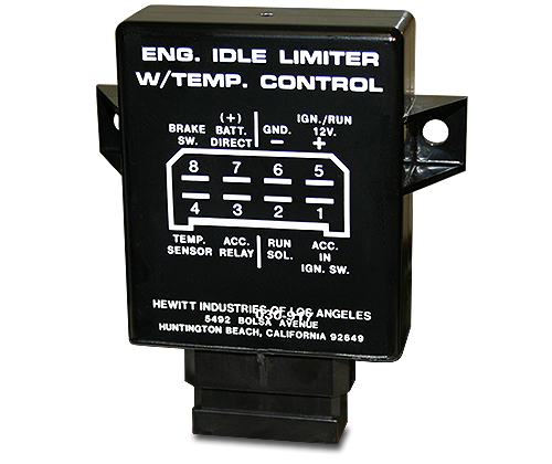 hewitt industries engine idle limiter systems
