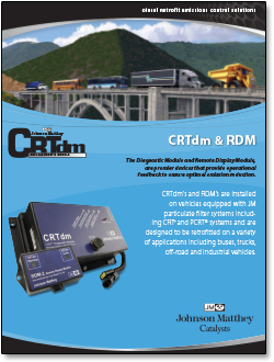 CRTdm diagnostic module literature