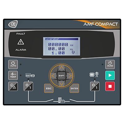 AMF Compact GenSet Controller