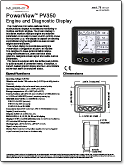 The PowerView 300 Series Displays Handle Basic Engine