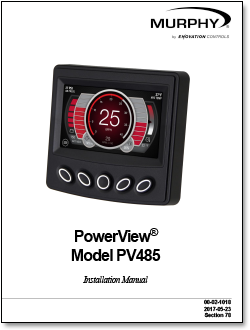 powerview PV485 literature