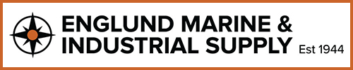 englund marine and industrial logo