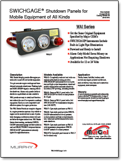 Remarkable Wd100 Series Murphy By Enovation Controls Basic Electronics Wiring Wiring 101 Mecadwellnesstrialsorg