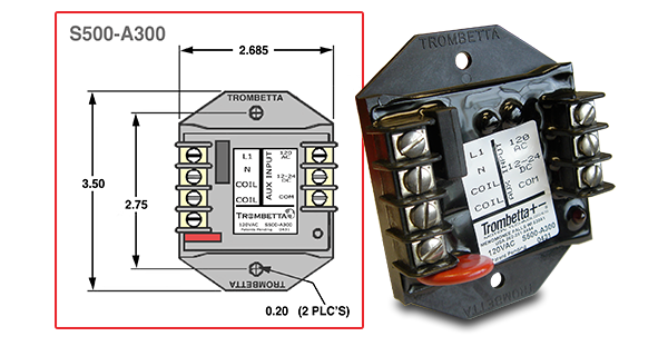 trombetta's s500 a300 electronic control module accepts your 2 Hydraulic Solenoid Wiring Diagram Solenoid Schematic trombetta pull solenoid wiring diagram