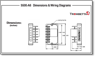 trombetta's s500 a5, a6 and a7 are electronic control modules for trombetta solenoid wiring diagram trombetta wiring diagram #6