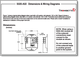Trombetta Wiring Diagram   Wiring Diagram Liry on