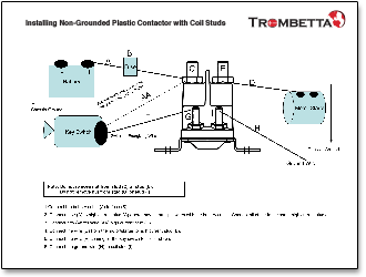trombetta high performance plastic dc contactor literature