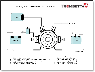 [SCHEMATICS_48EU]  Trombetta's Metal DC Contactors, with Both Continuous and Intermittent  Inrush Capabilities, are Simple and Robust Workhorse Devices that are Sized  to Fit a Variety of Starter Applications and Pole Configurations | Trombetta Wiring Diagram |  | MurCal