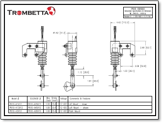 trombetta p series solenoids, offered in both 12v and 24v, are 1979 Ford Solenoid Wiring Diagram Lawn Mower Solenoid Wiring Diagram trombetta pull solenoid wiring diagram