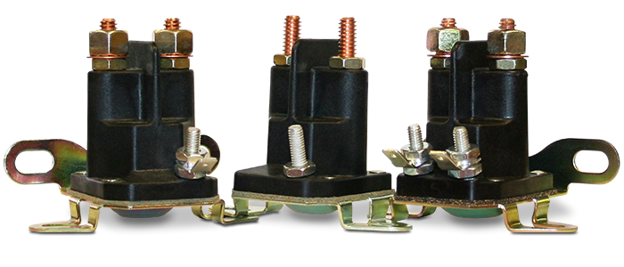 Trombetta's Plastic DC Contactors, Produced with Strong