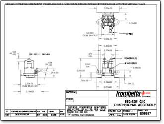 trombetta solenoid 892 wiring diagram: trombetta7s plastic dc contactors  produced with strong high rh: