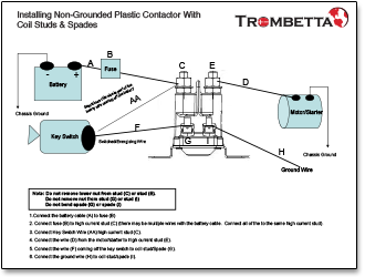 [SODI_2457]   Trombetta's Plastic DC Contactors, Produced with Strong, High  Temperature-Resistant Housings and Available in a Variety of Sizes and  Terminal Configurations, are Ideal for Many Lawn and Garden Applications | Trombetta Wiring Diagram |  | MurCal