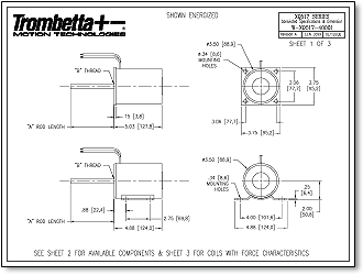 trombetta q series solenoids offered in both 12v and 24v are q517 specs dimensions